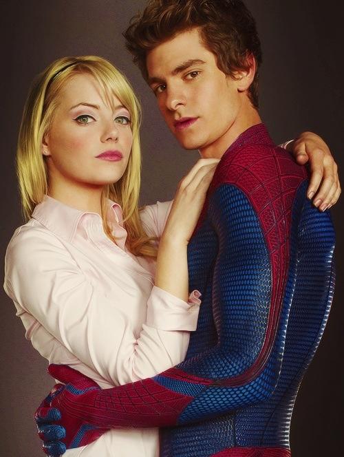 Spider Man & Gwen Stacy ❤