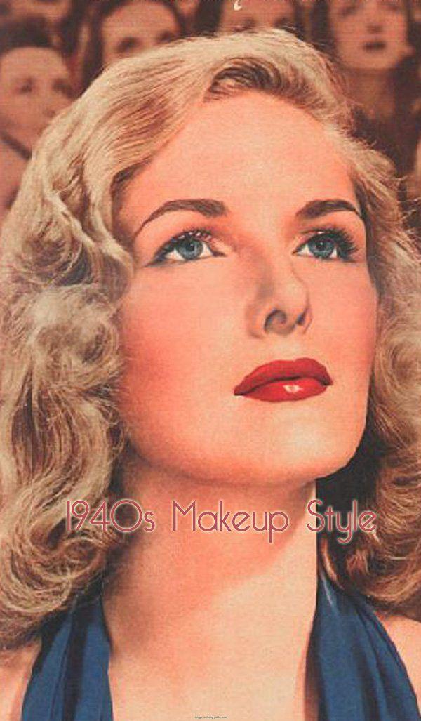 The 25+ best 1940s makeup ideas on Pinterest | vintage Makeup, 40s makeup and Vintage makeup looks