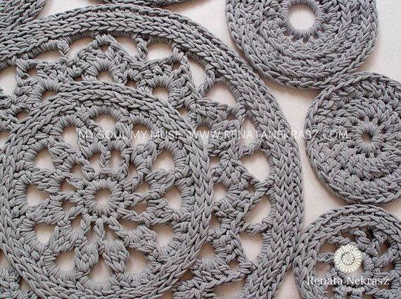 Best 100+ Teppiche images on Pinterest | Doilies crochet, Crochet ...