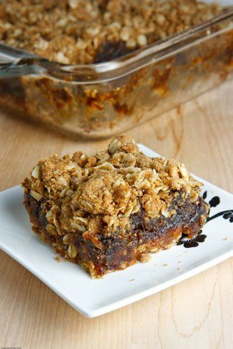 I LOVE date squares, or as some call it; Matrimonial Cake.
