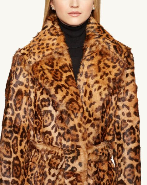 Shearling Harper Coat - Outerwear  Women - RalphLauren.com