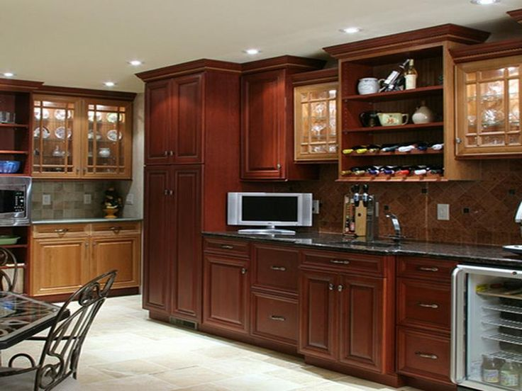 9 best images about lowes kitchen cabinets on pinterest home interior design glass door for Kitchen cabinet options design