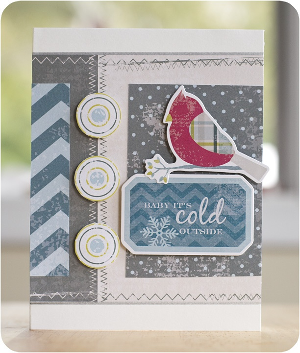 Winter Additions Scrapbooking Card Project Idea from Creative Memories    www.myCMsite.com/christineheberlig