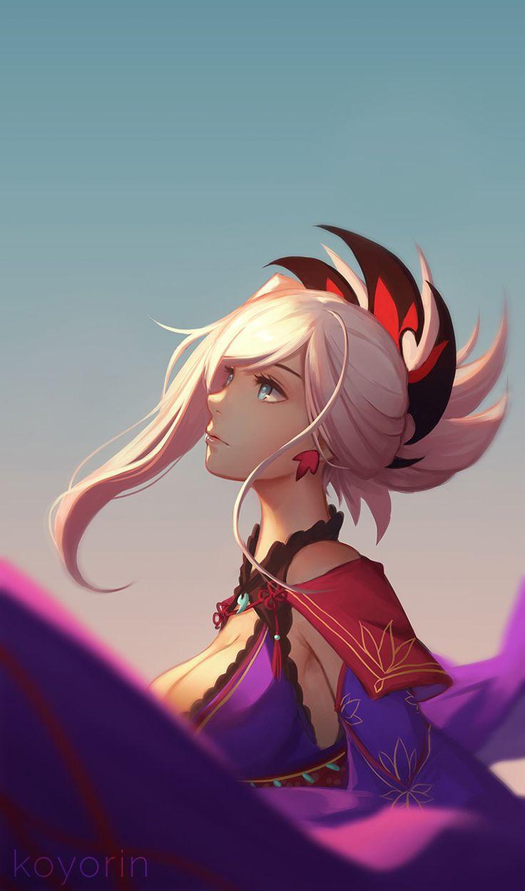 Miyamoto Musashi【Fate/Grand Order】 | Personagens femininos, Witcher