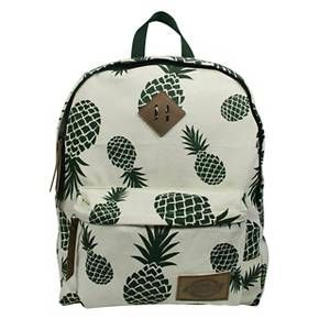 Dickies® Printed Classic Canvas Backpack with Front Zip Pocket - Pineapple Toss