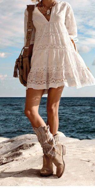 Summer southwestern bohemian style.  #bohemian #boho #southwestern