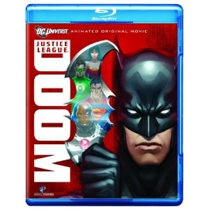 Justice League: Doom [Blu-ray] based on the DC Comics characters.  A villain has stolen Batman's top secret plans on how to take down the Justice League in case of an emergency and now has to fight to save the world by beating his own methods!