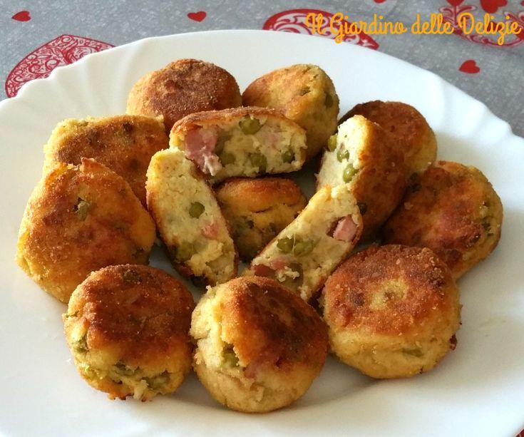Le polpette cavolfiore e pancetta, con formaggio ed uovo sono delicatissime, morbide, dolci con gusto, piaceranno anche ai più piccoli sicuramente