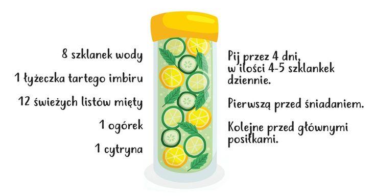 Ten napój pomoże Ci schudnąć 4kg. Nie pij go dłużej niż 4 dni!