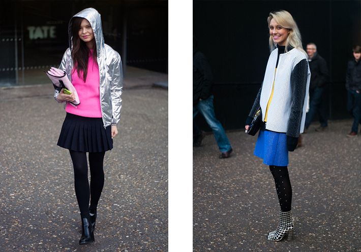 Street Style London Fashion Week  S/S 2013