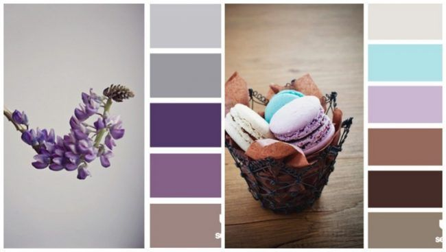 Welche Farbe Kueche Farbpalette Lila Aubergine Flieder Braun Aubergine Braun Farbe Farbpalette Flieder Kitchen Colors Wall Color Paint Colors For Home