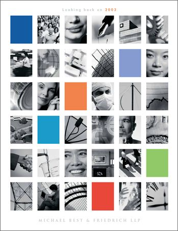 annual report cover | Award Winning Annual Report Covers 2003 annual report cover