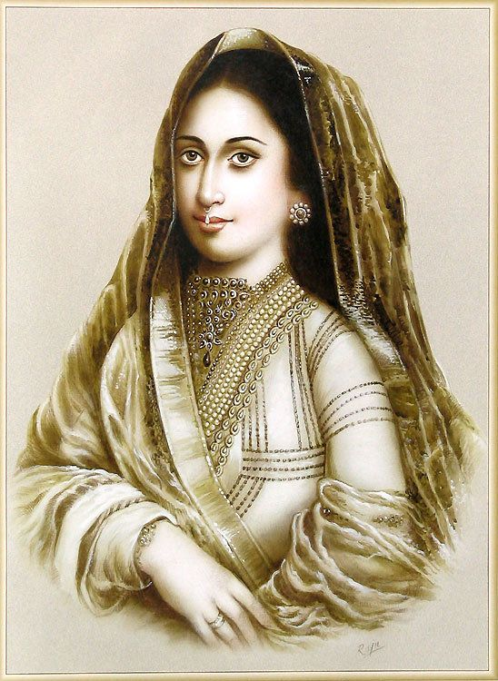 Mughal Queen (Reprint on Paper - Unframed)