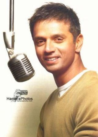 """Rahul Dravid- """"The Wall"""" of Indian Cricket Team also known as Mr. Dependable."""