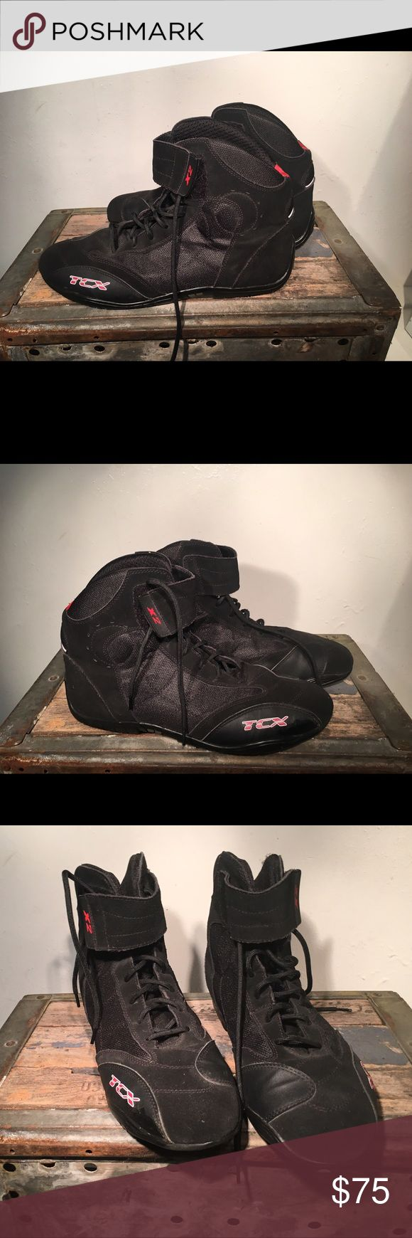 TCX Motorcycle Riding Shoe or Boot TCX Motorcycle Riding Shoe/Boot in almost New Condition! Check out the photos and make me an offer! TCX Shoes Boots