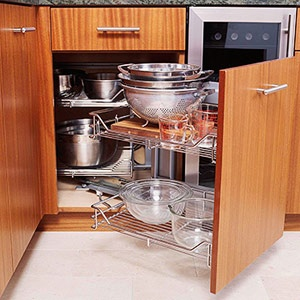Magic corner kitchen cabinet magic corner pinterest - Magic corner cabinet ...