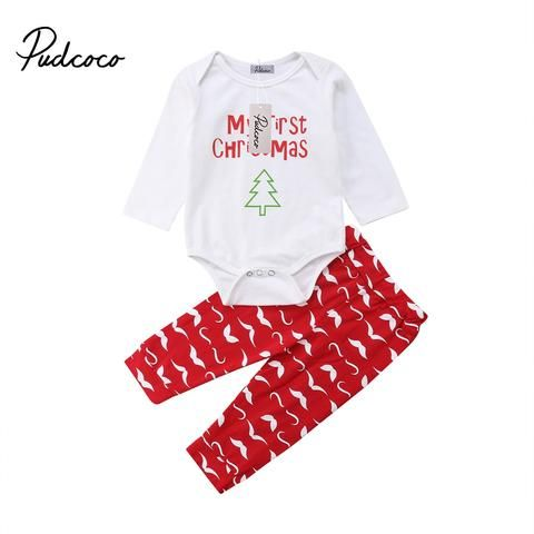 52a24d4cf0410 Pudcoco 2018 New Tollder Kid Baby Clothing Boys Girls Christmas ...