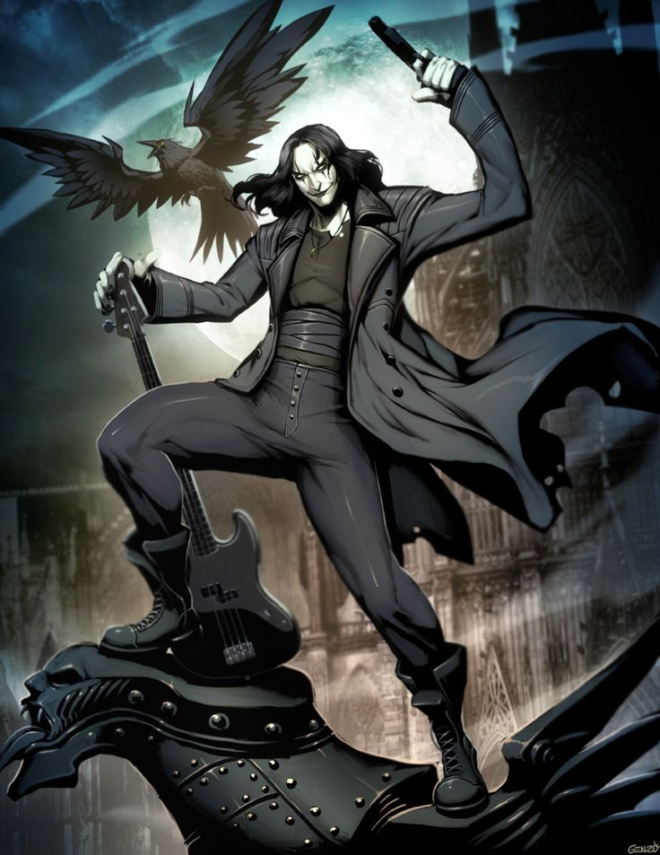 The Crow by GENZOMAN on deviant art