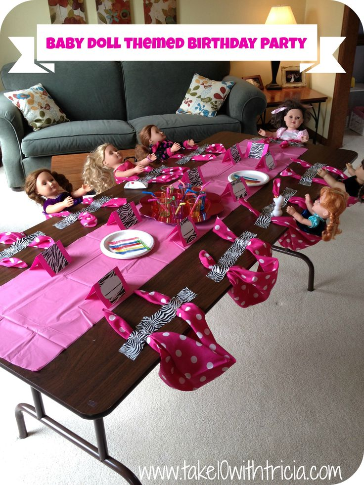 Best 25 Doll party ideas on Pinterest American girl birthday