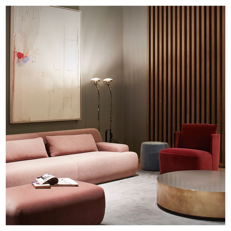 Norton Sofa And Living Room Project By ANDREA PARISIO For Meridiani