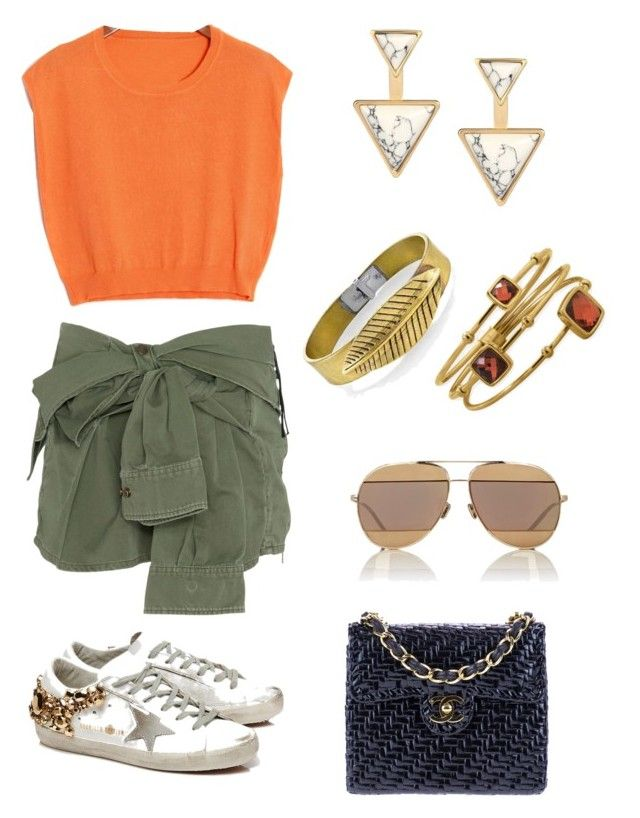 """""""City Look Vol1"""" by georgineto-kos on Polyvore featuring Faith Connexion, Golden Goose, Chanel, Christian Dior, 1928 and BillyTheTree"""