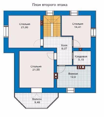 Идея дома.<br><br>Общая площадь без балкона и террас: 171,6 кв.м<br>Описание:<br>Фундамент – монолитный ж/б<br>Наружные стены – поризованный кирпич<br>Перекрытия – монолитный ж/б<br>Крыша – мансардная Кровля – металлочерепица<br>Наружная отделка – штукатурка, окраска, облицовка камнем<br>Цоколь – облицовка камнем
