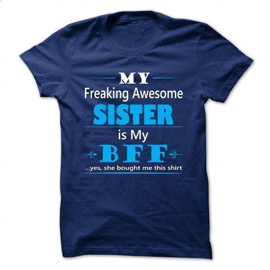 BFF - BEST FRIEND FOREVER, sister - #funny t shirt #hoodie sweatshirts. I WANT THIS => https://www.sunfrog.com/LifeStyle/BFF--BEST-FRIEND-FOREVER-sister.html?60505