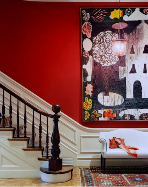 Red rooms valentine 39 s day inspired interior design bob Receiving room interior design
