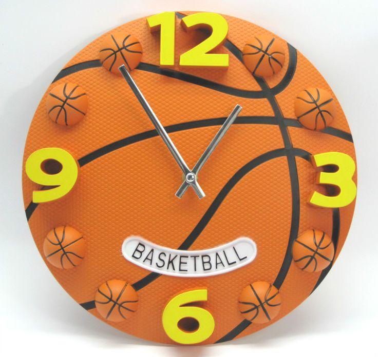 Creative personality football basketball sitting room the bedroom wall clock fashion modern clocks decoration clock mute wall cl