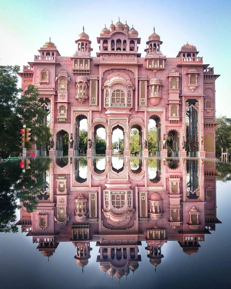 the Patrika Gate in Jaipur photo by Himanshu Pagariya