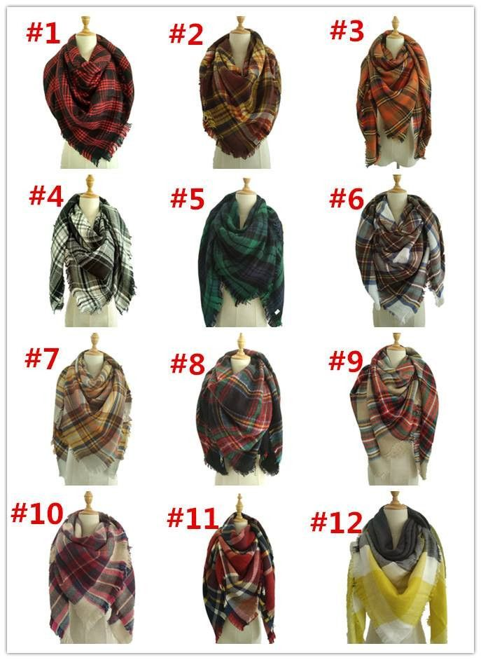 GORGEOUS ACRYLIC BLANKET SCARVES GREAT FOR GIFT GIVING 55 x 55 REFER TO THE NUMBERED PICTURES WHEN ORDERING THIS IS A PREORDER. ALL ORDERS INCLUDED WITH THIS ORDER WILL SHIP TOGETHER. THEY ARE ESTIMAT