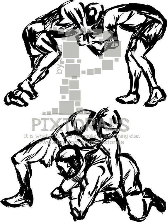 2 Wrestling Digital Download Brush Effect Wrestlers As Png Etsy Wrestling Tattoos Wrestling Wrestling Workout