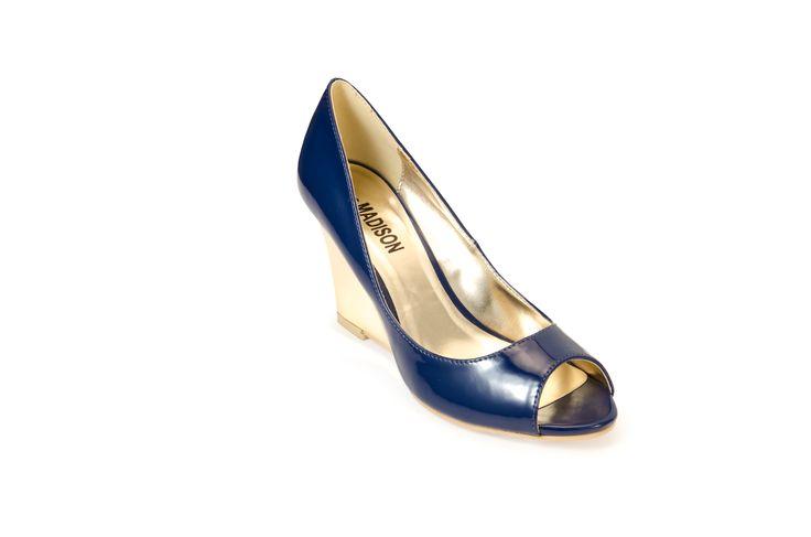 SAN JOSE Blue R410.00 from www.madisonheartofnewyork.com follow us on Twitter @Madison Shoes SA