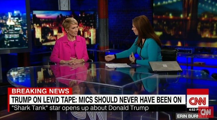 In an interview with CNN's Erin Burnett, real estate expert and Shark Tank cast member Barbara Corcoran said that she had an encounter with Donald Trump that sounds grossly inappropriate. Corcoran says it was the only time she was alone with Donald...
