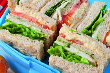 Egg salad club sandwiches – Recipes – Bite