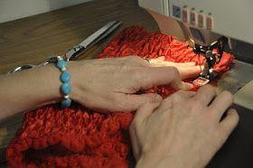 DIY-How to make a lace petti romper