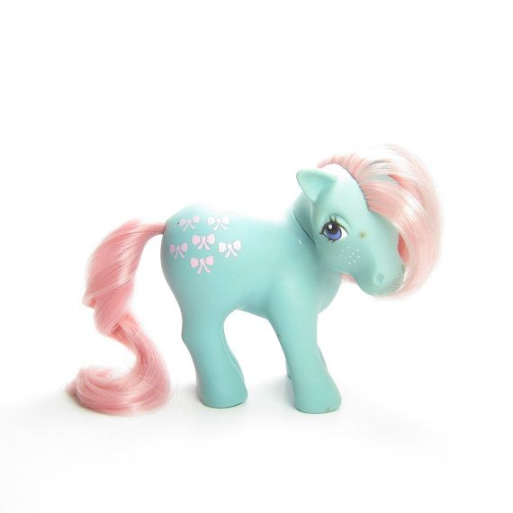Bow-Tie My Little Pony Vintage G1 by BrownEyedRoseVintage