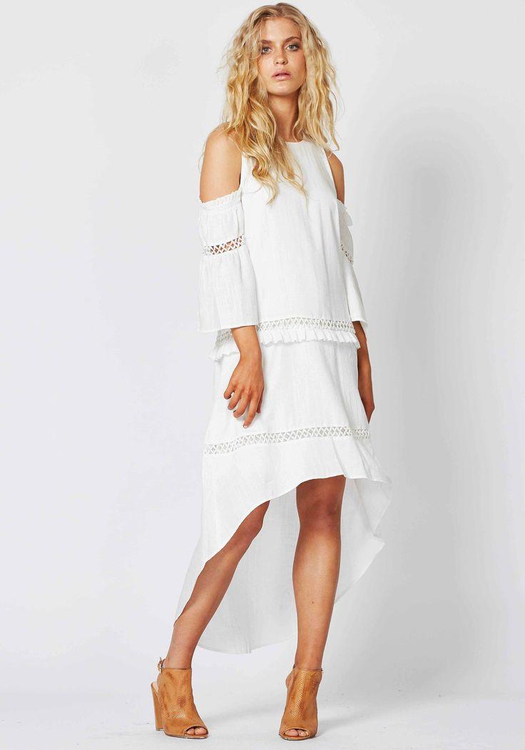 Three Of Something - Awakening Dress - White