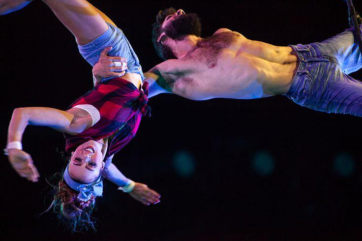 Le Monde est Fou - Cirque du Soleil  Photo: Olivier Croteau