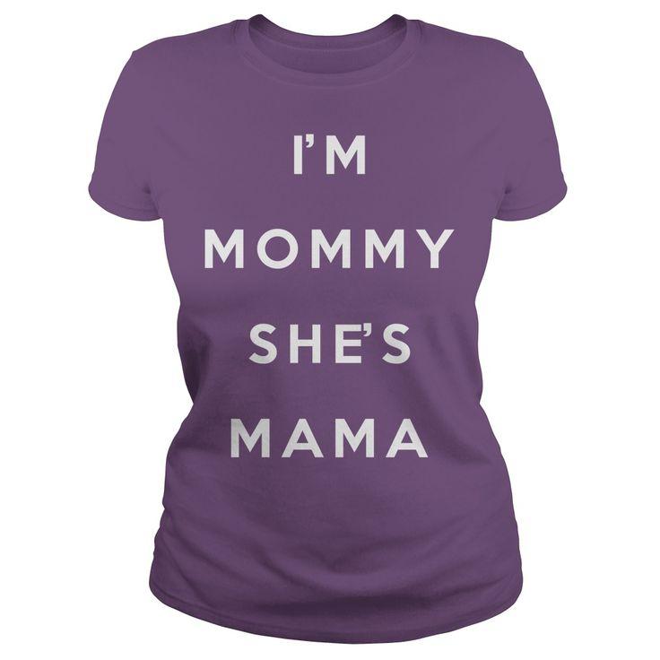 Im lesbian  Im Mommy Shes Mama LGBT lesbian gay bisexual transgender tee tshirts t-shirts store rainbows https://www.sunfrog.com/Im-lesbian--Im-Mommy-Shes-Mama-Purple-Ladies.html?42409