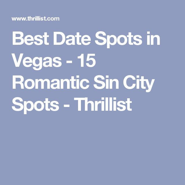 Dating places in vegas