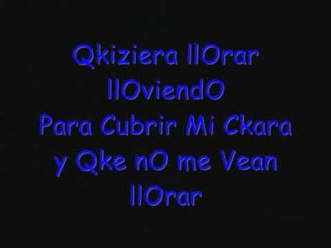 Toby Love - Llorar lloviendo Con Letra - YouTube