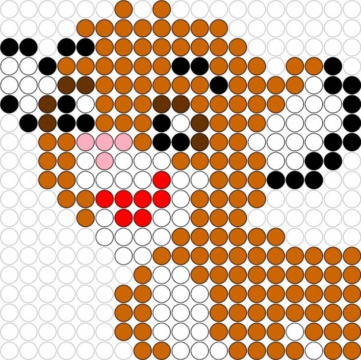 Kralenplank Simba