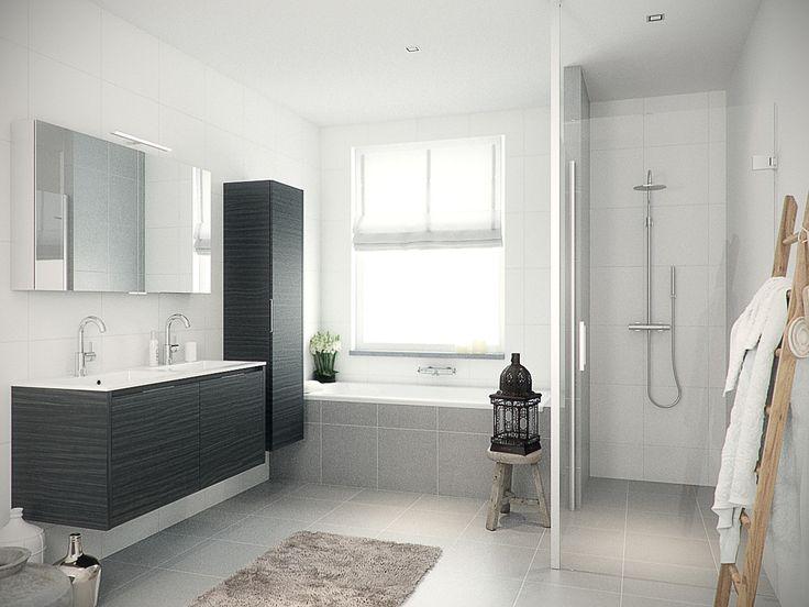 Bruynzeel badmeubel Matera / badkamerkast / badkamer idee / meuble salle de bain