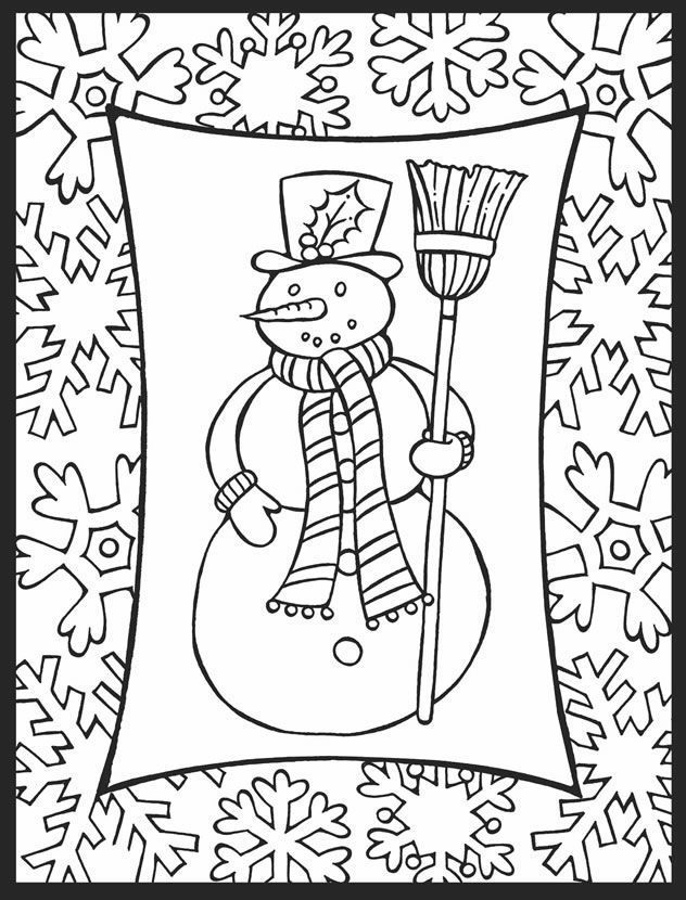 Free Printable Winter Coloring Pages For Kids In 2021 Coloring Pages Winter Printable Christmas Coloring Pages Coloring Pages Inspirational