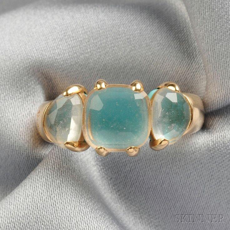 18kt Gold Gem-set Ring, Pomellato | Sale Number 2671B, Lot Number 193 | Skinner Auctioneers