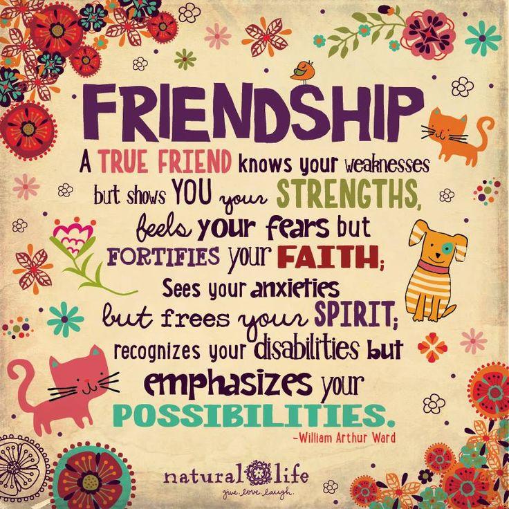 #amistad..... un verdadero amigo sabe tus debilidades pero te muestra tus puntos fuertes siente tus temores, pero fortalece tu fe, ve sus ansiedades pero libera tu espíritu reconoce sus discapacidades, pero hace hincapié en sus posibilidades....... #verdaderosamigoss&