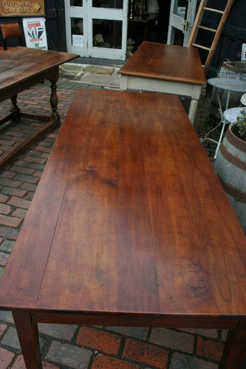 Antique French Cherry Farmhouse Table in Rye, East Sussex Antique