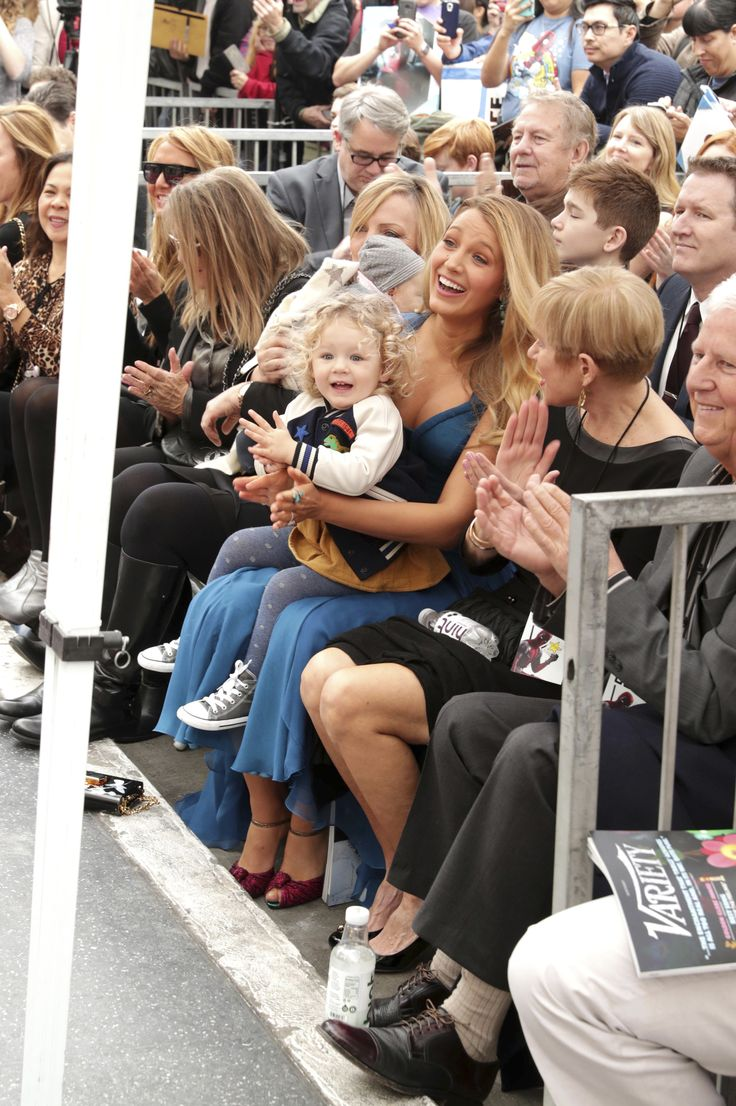 Ryan Reynolds and Blake Lively's Kids Make Their Public Debut at Dad's Hollywood Walk of Fame Ceremony