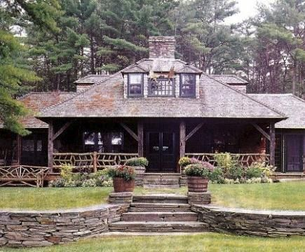 384 best urban farmhouse images on pinterest home ideas for Adirondack cabin builders